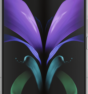 Samsung Galaxy Z Fold2 5G 256GB Mystic Black at £299 on Unlimited Max with Entertainment (24 Month contract) with Unlimited mins & texts; Unlimited 5G data. £106 a month.