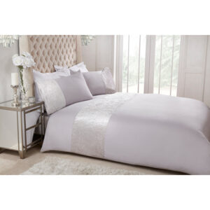 Velvet Cuff King Duvet Set