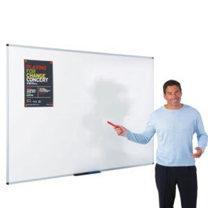Vitreous enamel steel whiteboard 1200x1200