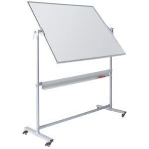 Write On® Revolving Whiteboard - 1200 x 1500mm (HxW) - Magnetic