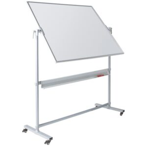 Write On® Revolving Whiteboard - 1200 x 900mm (HxW) - Magnetic