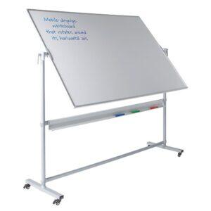 Write-on Revolving Mobile Whiteboards, 900 x 1200
