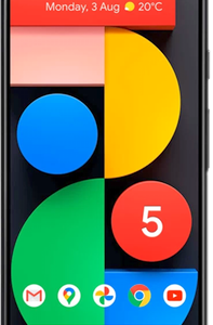 Google Pixel 5 5G 128GB Just Black at £19 on Unlimited with Entertainment (24 Month contract) with Unlimited mins & texts; Unlimited 5G data. £65 a month.