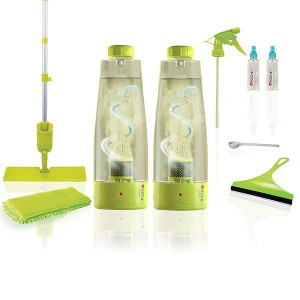 H2O e3 Natural Multi-Purpose Cleaning System with 2 x 450ml Activator Bottles